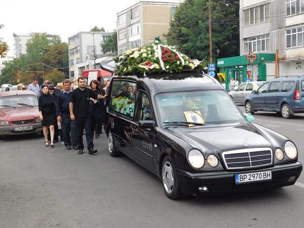 Înmormantare George Ciobanu