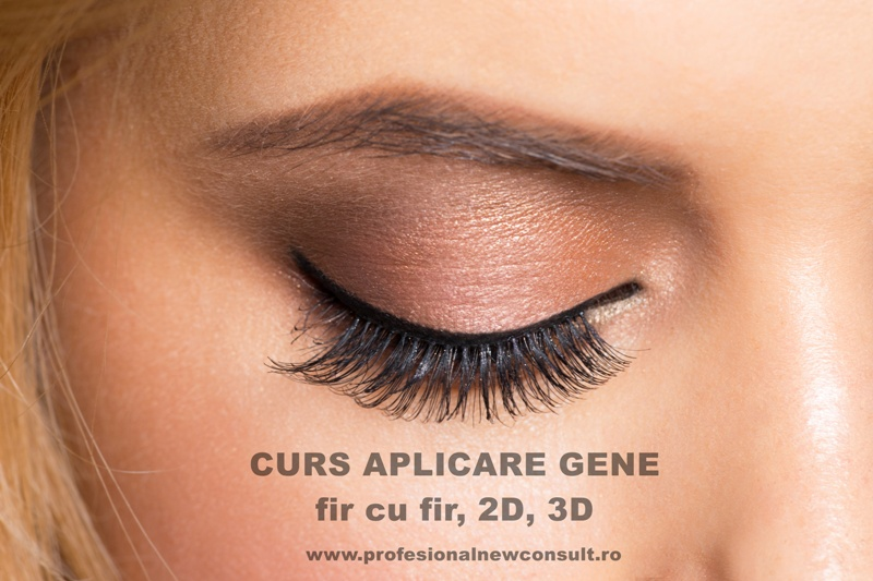Closeup image of beautiful woman eye with fashion bright makeup